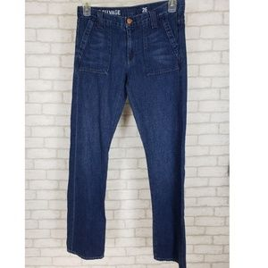 J.Crew Vintage Selvage Japanese Jeans 26
